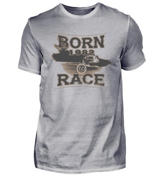 Born to race racer racing tuning 1982