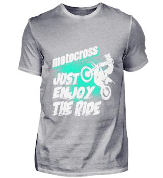 motocross just enjoy the ride