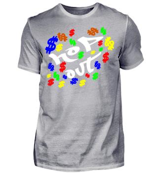 HOP out das lustige hiphop shirt