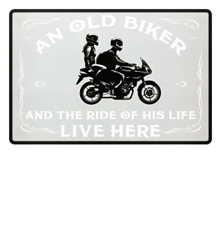 An old Biker and the ride of his life