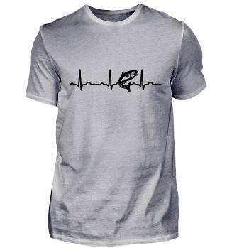 GIFT - ECG HEARTLINE FISH BLACK