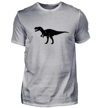 Brüllender Rex! schwarz