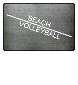 Beach Volleyball line - white