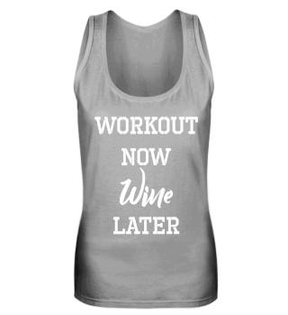 Frauen Fitness Sport Wein Shirt Geschenk