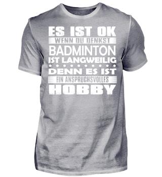 Badminton - Es ist ok