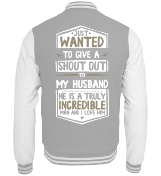 Wife Shirt-Incredible man2