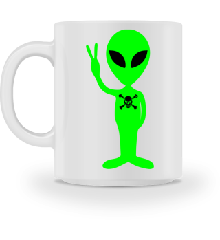 Just an Alien - Skull and Bones