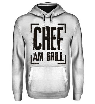 Chef Am Grill - schwarz
