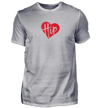 """Hip"" Shirt (rot)"