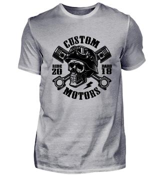 Biker Skull - Custom Motors 20 5