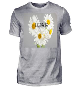 Blumen Herz Liebe Weiß