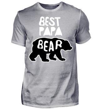 Best Papa Bear Bester Vater Bär Baby Opa