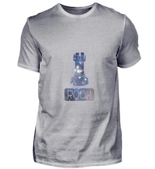 Rook Chess Piece Starry Night Galaxy