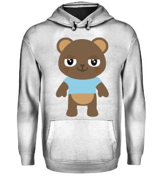 cute bear with T-Shirt