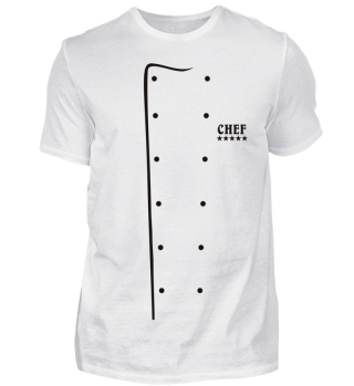 Solid Cook Sweater Design CHEF 5 Stars