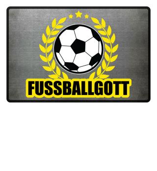 Fussballgott Fussmatte