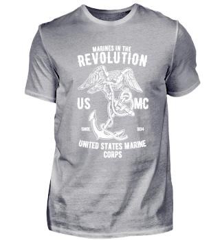 Marines in the Revolution US MC