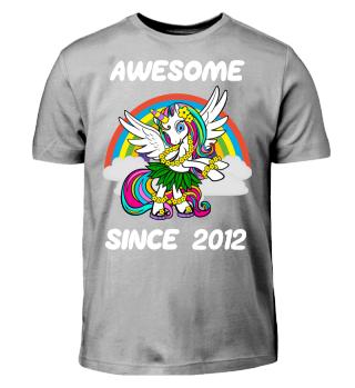 Einhorn Geschenk Shirt 6. Geburtstag