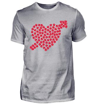 Pfeil Liebe Herz Geschenk Valentinstag