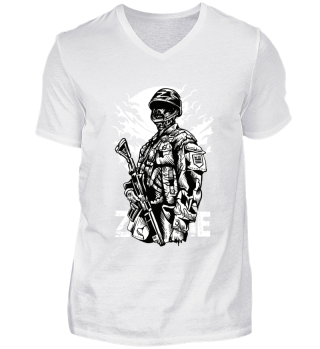 ☛ ZOMBIE SOLDIER #2
