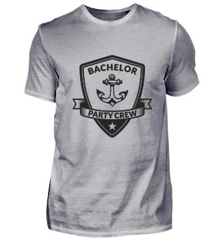 Bachelor Party Crew Emblem