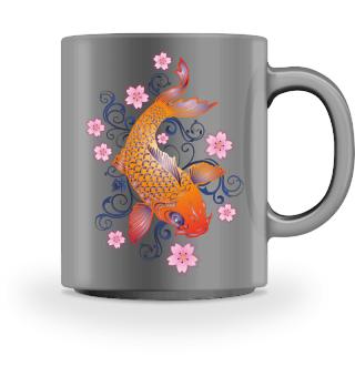 KOI Fish - Nishikigoi Sakura Blossoms 2