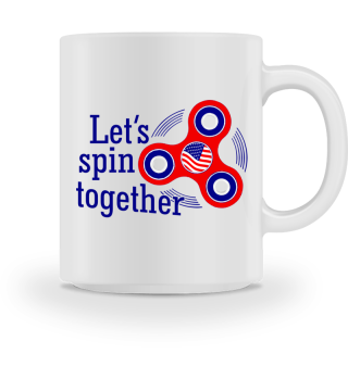 Fidget spinner USA - let's spin together