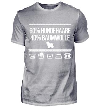 60% Hundehaare 40% Baumwolle