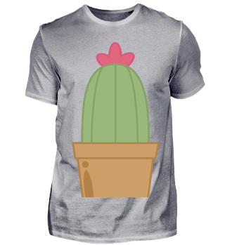 Grüner Kaktus - Cartoondesign