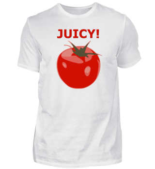 JUICY - tomato motive - gift idea