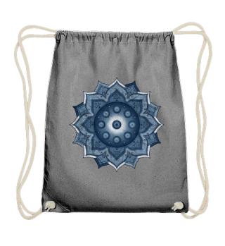 Handpan - Hang Drum Mandala - blue mix