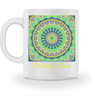 Mandala Square - Birthday Twins Outfit 2