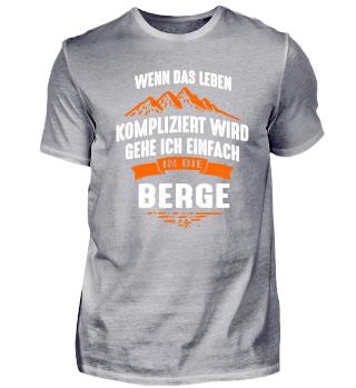 Berge kompliziert - T-Shirt