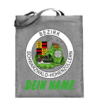 Jutebeutel: Bezirk+Name