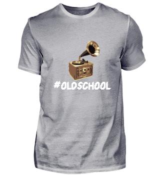 Oldschool Plattenspieler / Schallplatte