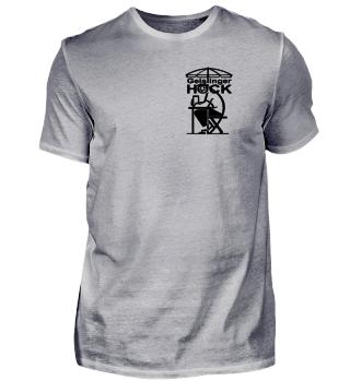 Geislinger Hock, kleines Logo vorne, helle Materialien, schwarzer Druck