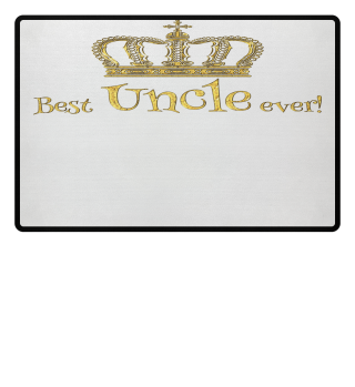 ♛ Royal Crown - Best Uncle Ever