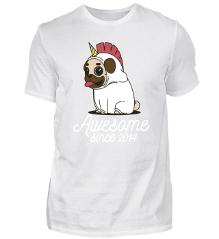 Awesome Since 2014 Funny Gift
