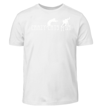 Crazy Cats Mom - Fantasy Silhouette 2