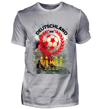 FUSSBALL SHIRT · GIB MIR FÜNF #4.6