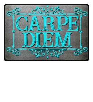 CARPE DIEM - vintage frame Fußmatte 5