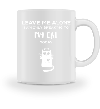 Funny Mug Cat Gift Cats Love Katze