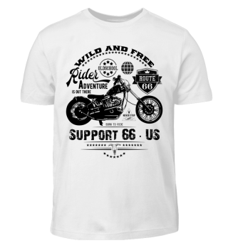 RIDER - SUPPORT 66 - US #3A