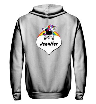 ♥ Dabbing Rainbow Unicorn - Your Text 3