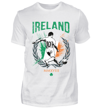 IRLAND FAN-SHIRT Nationalfarben Fußball