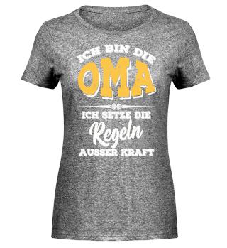 Ich bin die Oma *Family Shirt*