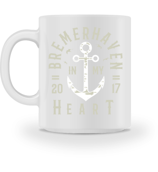 Bremerhaven IN MY HEART Tasse
