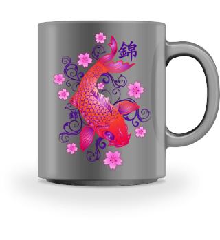 KOI Fish - Nishikigoi Sakura Blossoms 6
