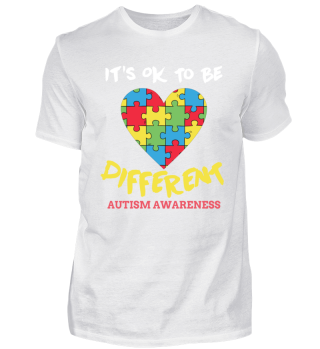 It's ok to be different - Autism Love