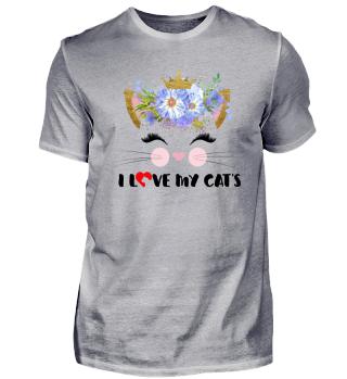 CAT-FACE - I LOVE MY CATS #3.1